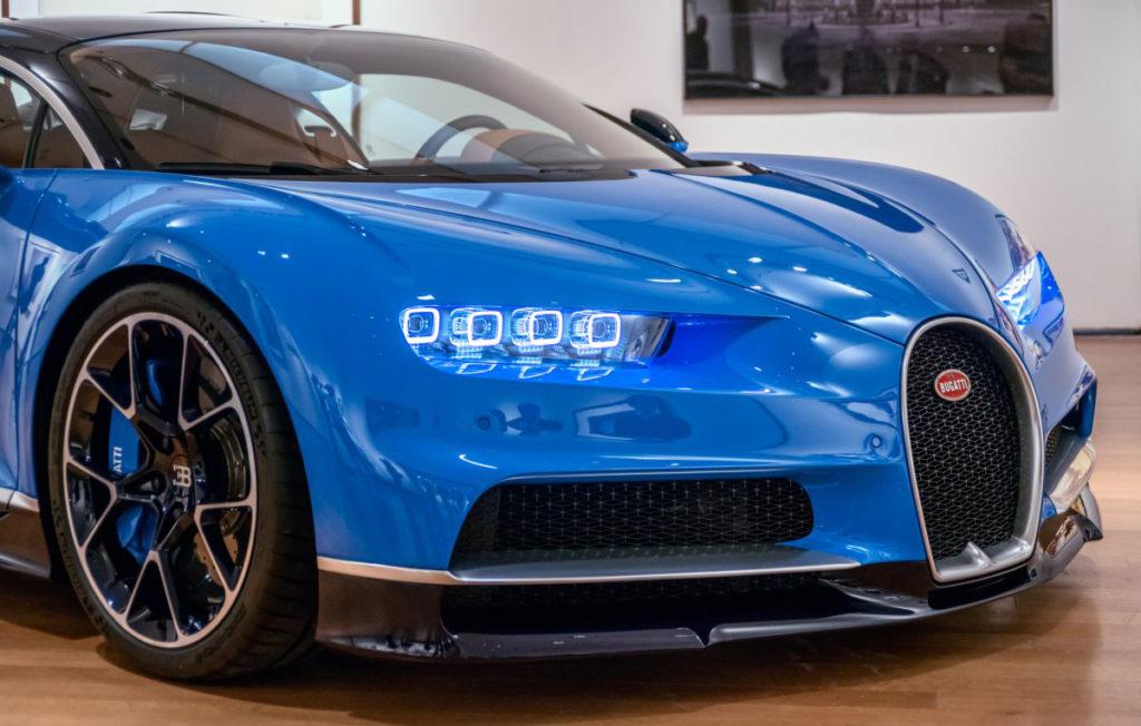 Una verdadera obra de arte el nuevo Bugatti Chiron