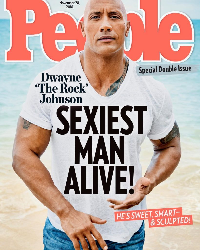 Top 10 cuentas de Instagram en 2016 - The Rock