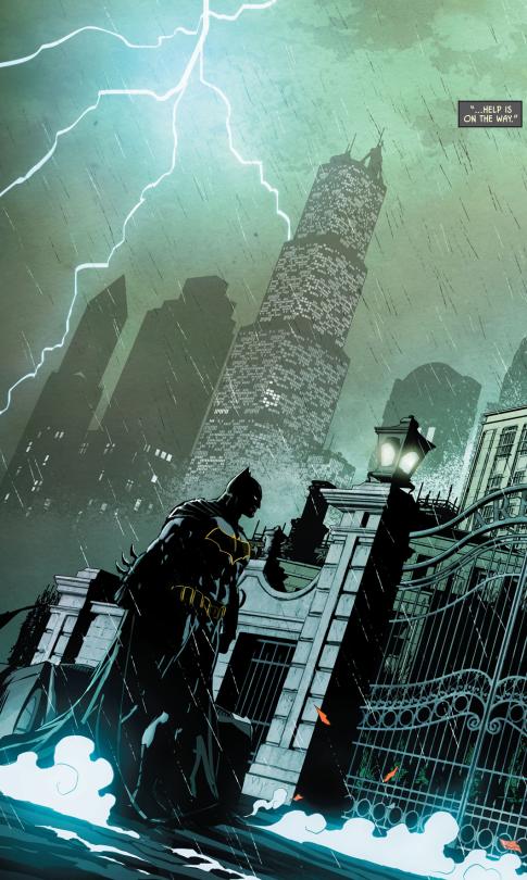 Random post para cerrar una semana pesada - Batman