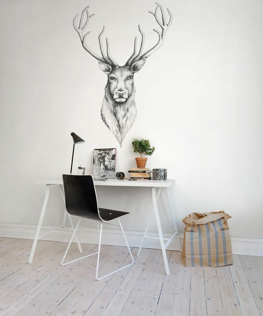Decoración minimalista para oficinas en casa #75