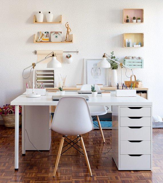 Decoraci n minimalista para oficinas en casa 75 el124 for Oficina postal mas cercana