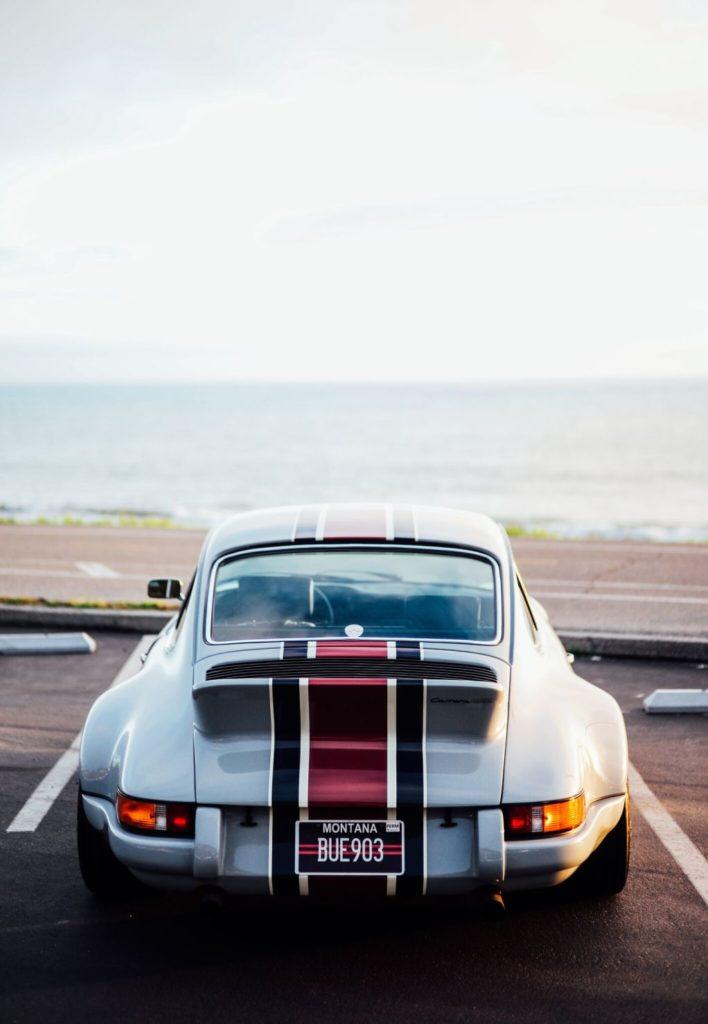 Reconstruido y perfecto Porsche 911 RSR