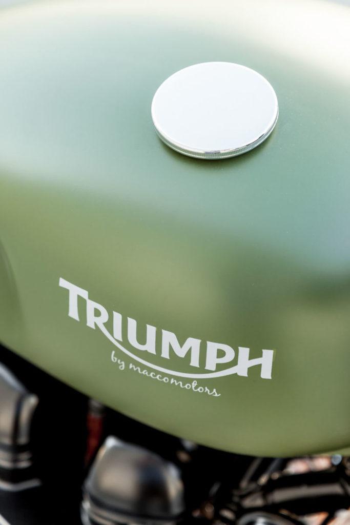 Triumph Thruxton completamente personalizada