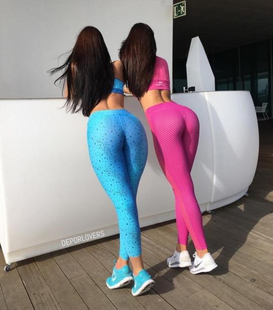 Las chicas del gym listas para la primavera