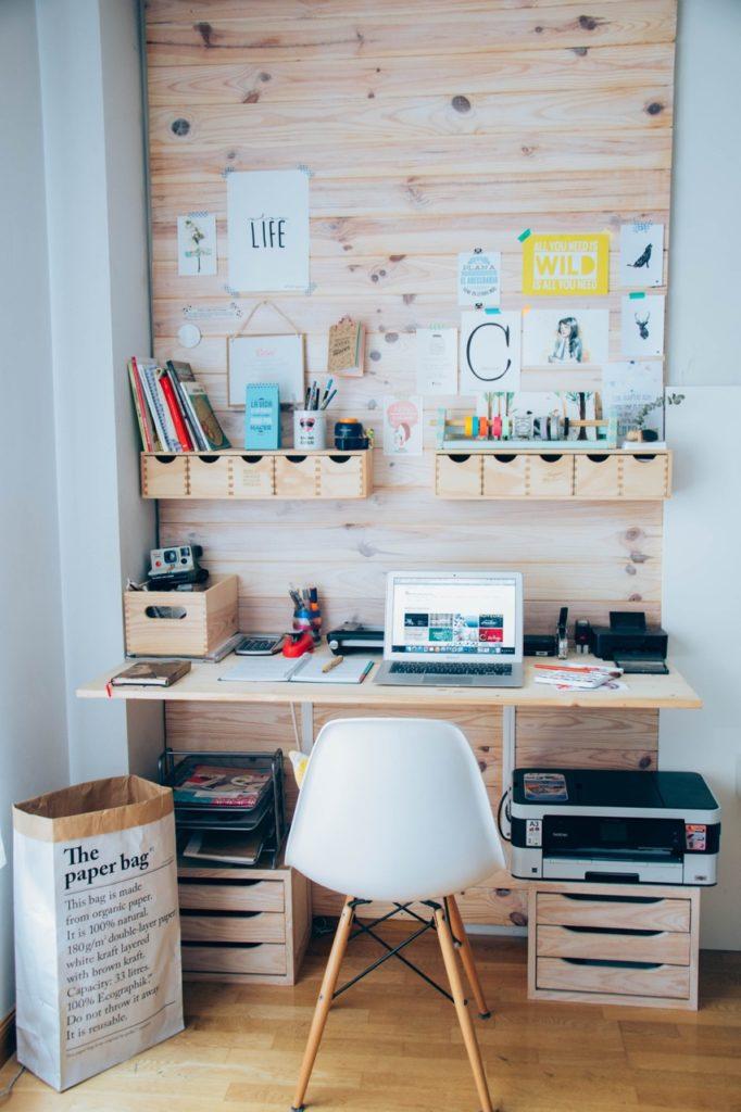 Ideas para dise ar y decorar tu oficina en casa 78 for Oficinas chicas