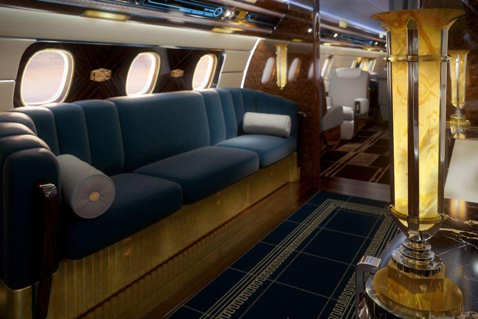 El glamour de volar en un avión retro