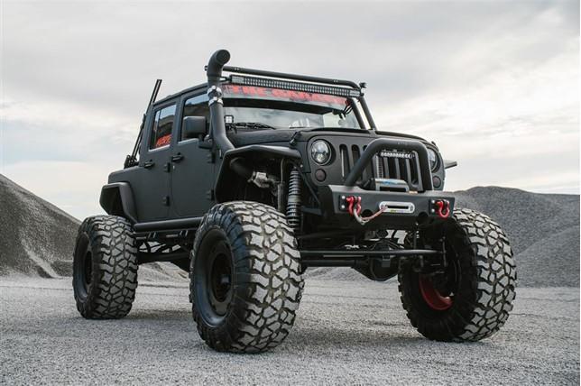 Impresionante 4x4 Jeep Wrangler Rattletrap de 2007