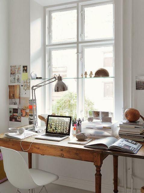 Increíbles oficinas en casa para motivar a crear la tuya #82