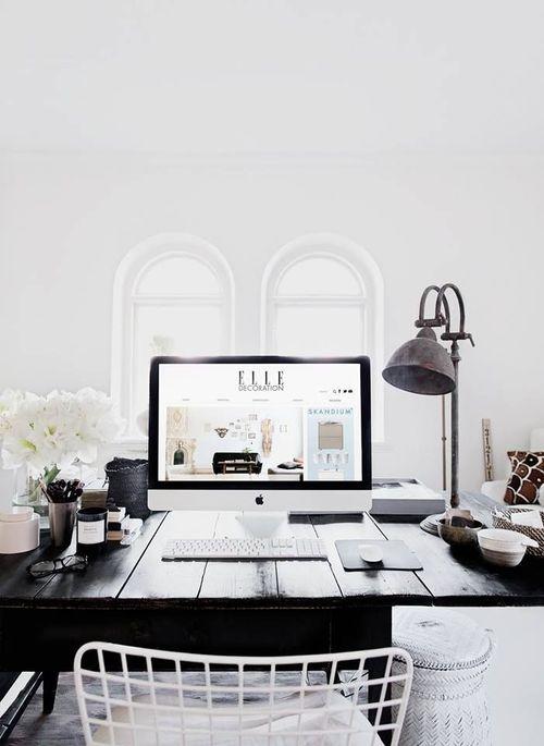 Estilo e inspiración para el diseño de oficinas en casa #81