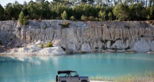 El transporte ideal del verano Land Rover D90