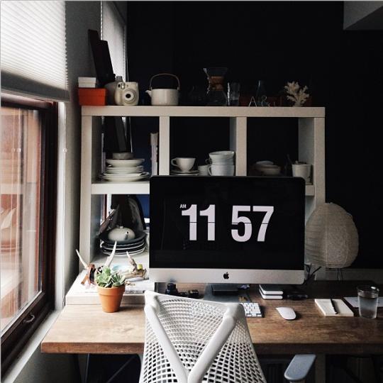 Decoración sensacional para oficinas en casa #86