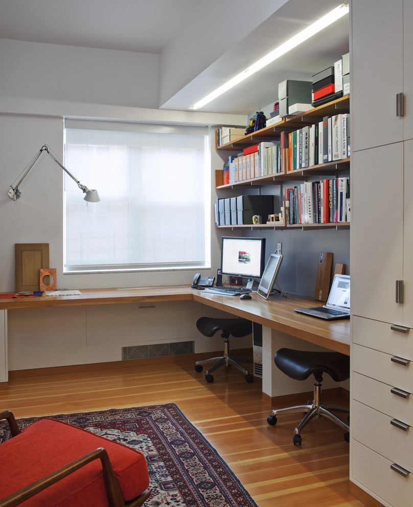 Decoraci n sensacional para oficinas en casa 86 el124 for Deco oficina
