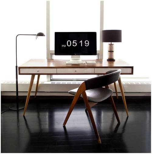 Diseño mínimo de oficinas en casa #84