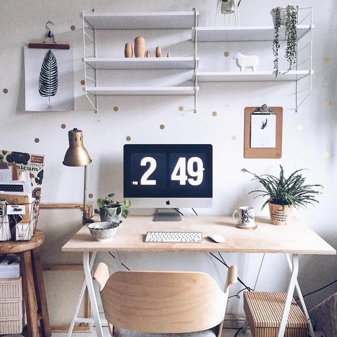 Estilo y dise o de oficina en casa minimalista 83 for Decoracion de oficinas en casa