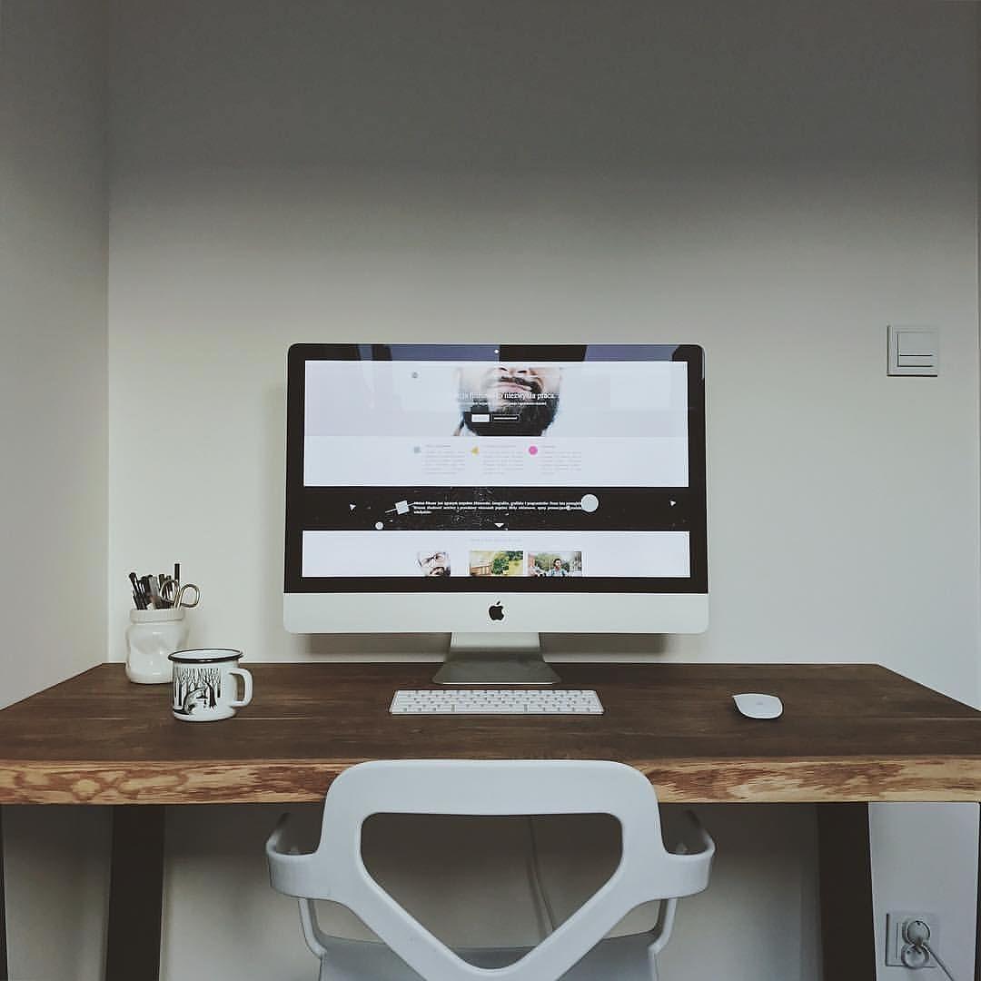 Estilo y diseño de oficina en casa minimalista #83
