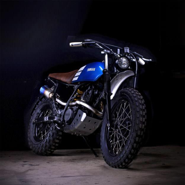 Yamaha TW200 el diablo está en los detalles