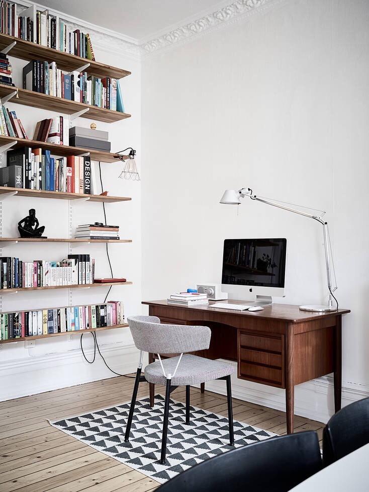 Dise o genial de oficinas en casa para inspirar 89 el124 for Diseno de oficinas en casa