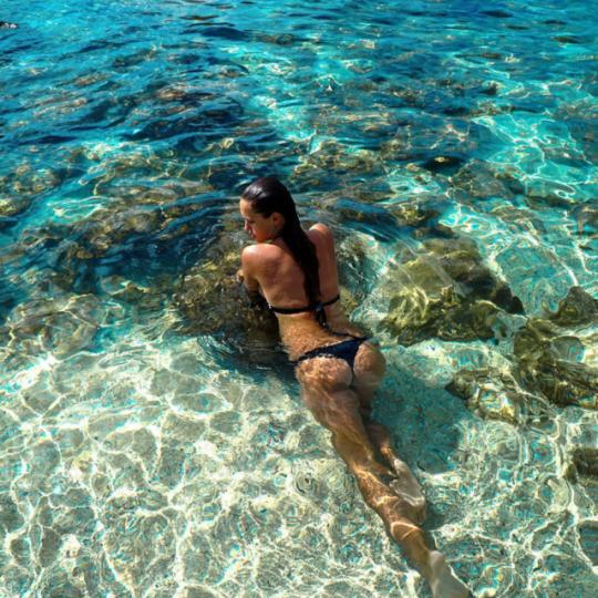 Bikinis y playa