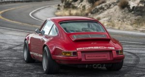 Rojo y sensacional Porsche 911 Le Mans