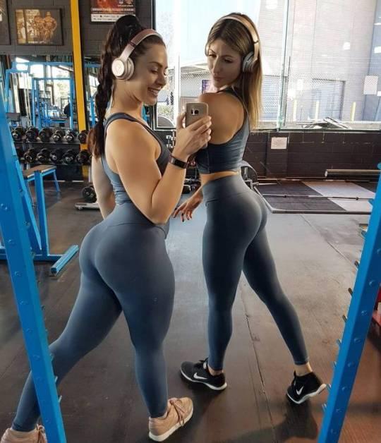 En el gimnasio te puedes encontrar con ellas