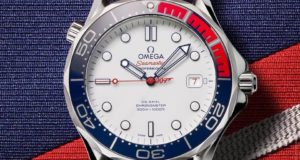 Increíble Omega Seamaster tributo a James Bond
