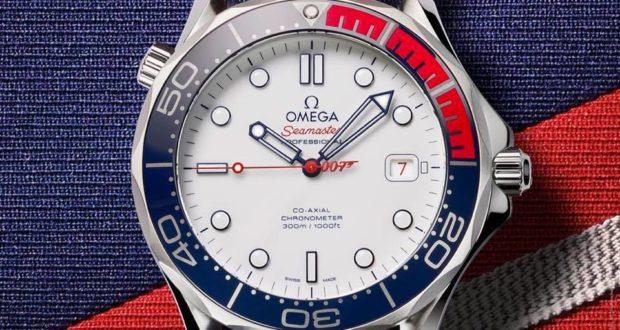 Increíble Omega Seamaster tributo a James Bond