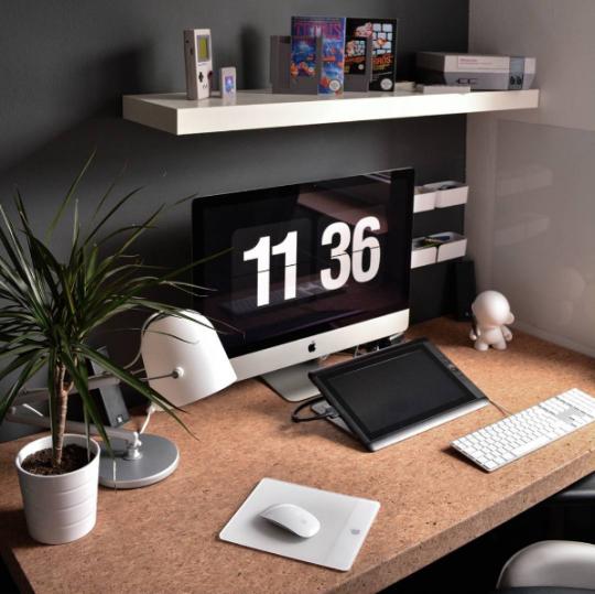 Decoración y diseño de interiores para oficinas en casa #93