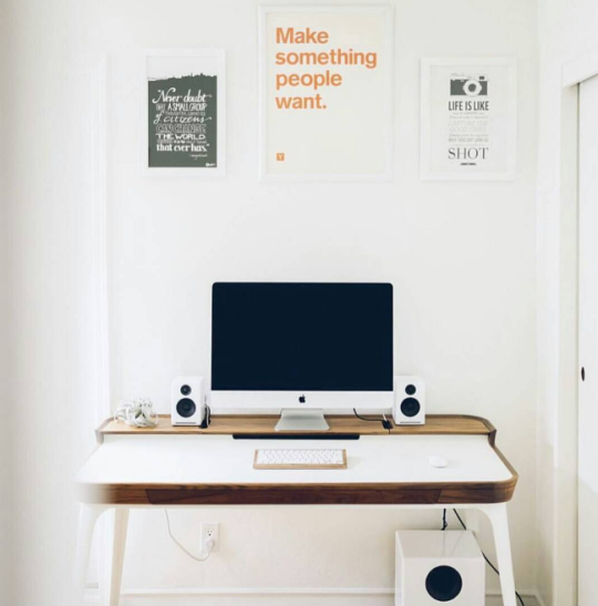 Ideas para decorar tu oficina en casa #92