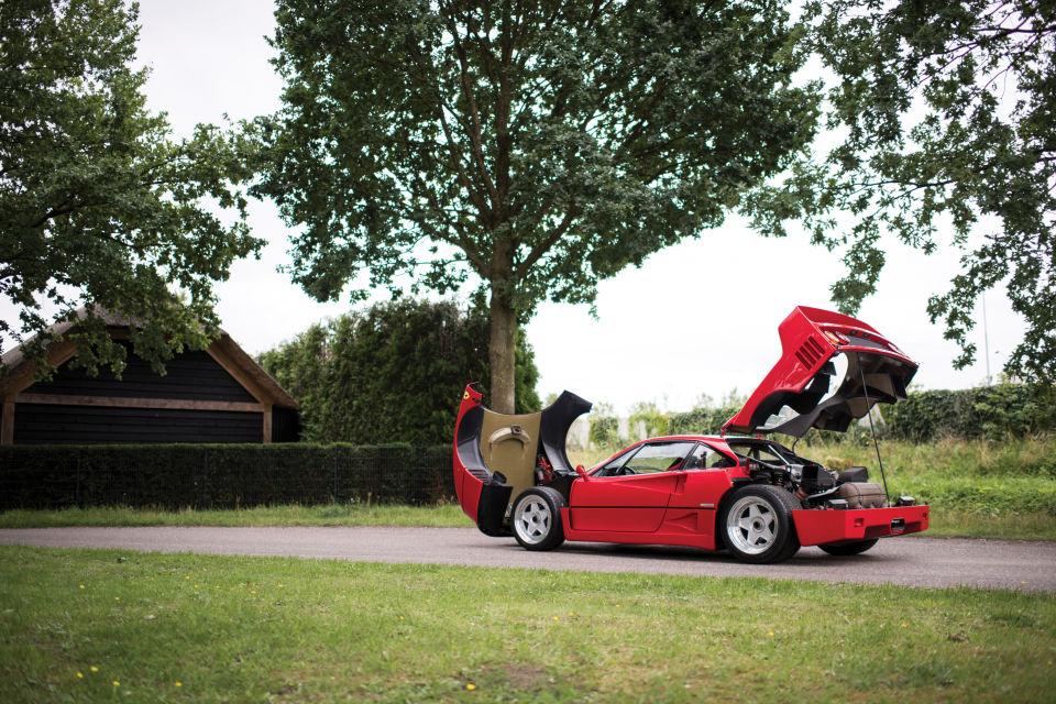 Ferrari F40 de 1989 el más impresionante de todos