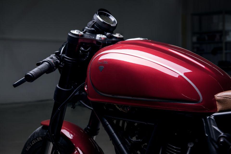 Ducati completamente personalizada y reconstruida a la medida