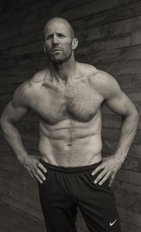 Los resultados de los hombres del gimnasio se ven así