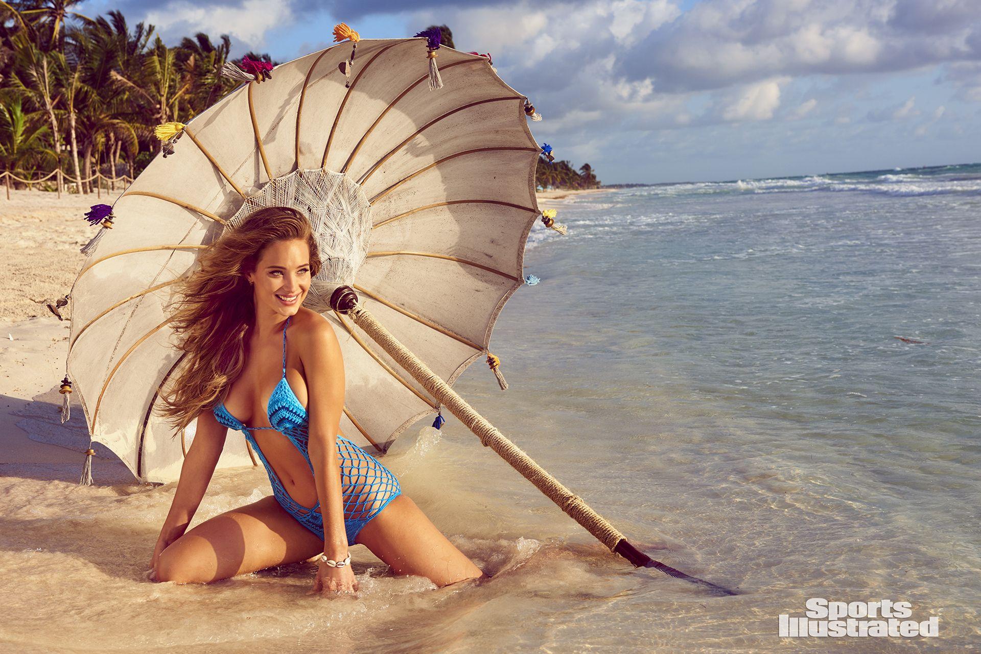 Hannah Jeter sexy e impresionante desde Tahití