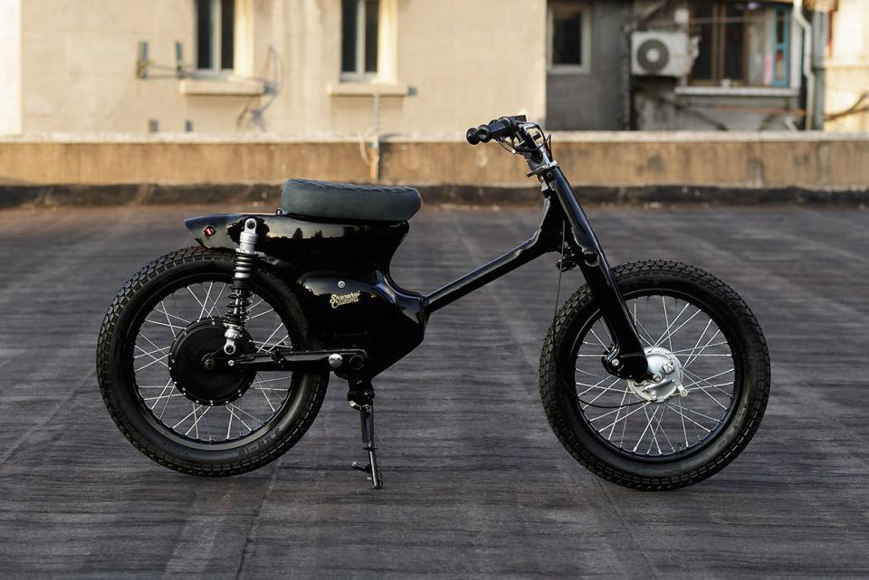 Honda Cub un scooter 100% eléctrico
