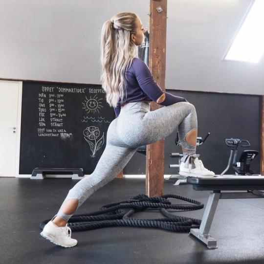 Inspiración total para el gimnasio con las chicas más fit