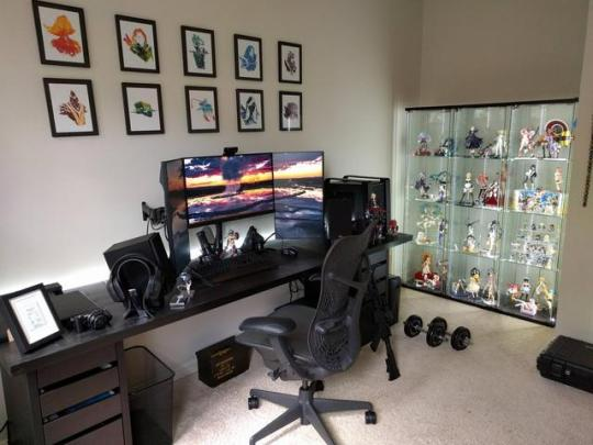 Ideas creativas para tu oficina en casa #97
