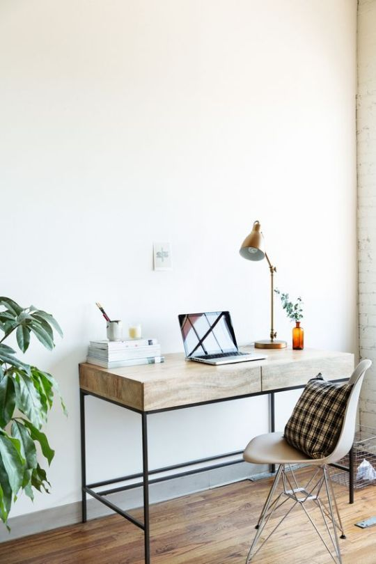 Inspiraci n para decoraci n y dise o de oficinas en casa for Diseno de oficinas en casa