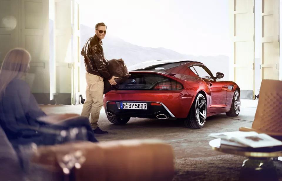 Sexy E Impresionante Bmw Z4 Zagato Carros De Lujo Y