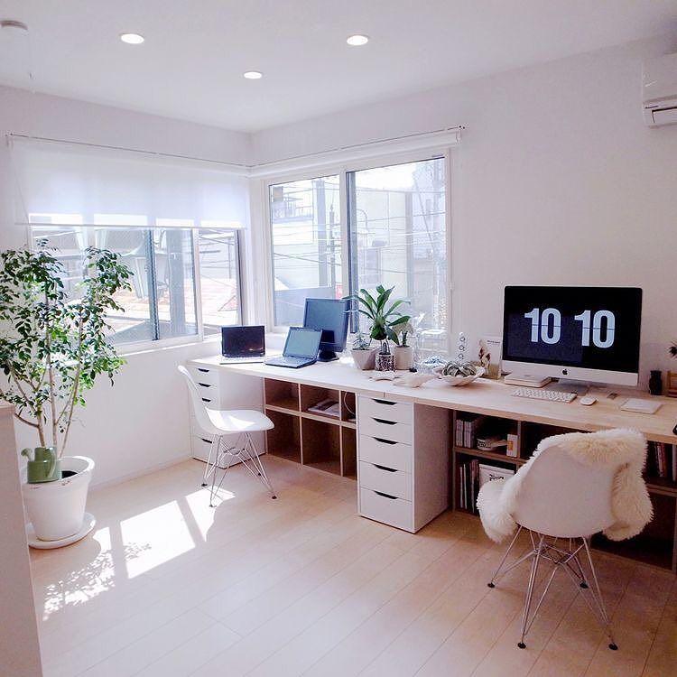 Inspiraci n e ideas para dise ar oficinas en casa 102 el124 for Oficinas chicas