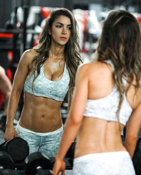 Inspiración única con las mujeres más fit del gimnasio