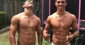 Los mejores abs con los hombres más fit