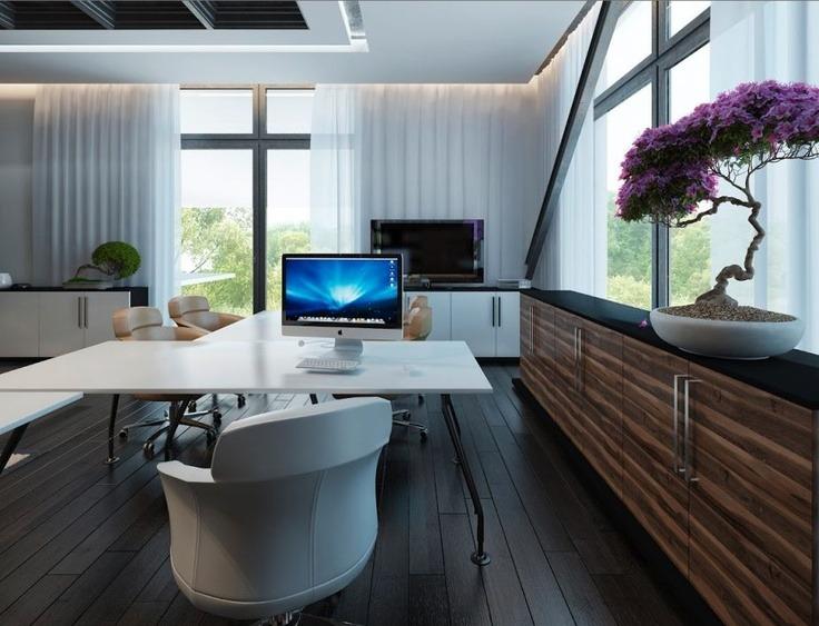 Ideas de decoraci n para oficinas en el hogar 106 el124 - Ideas para el hogar decoracion ...