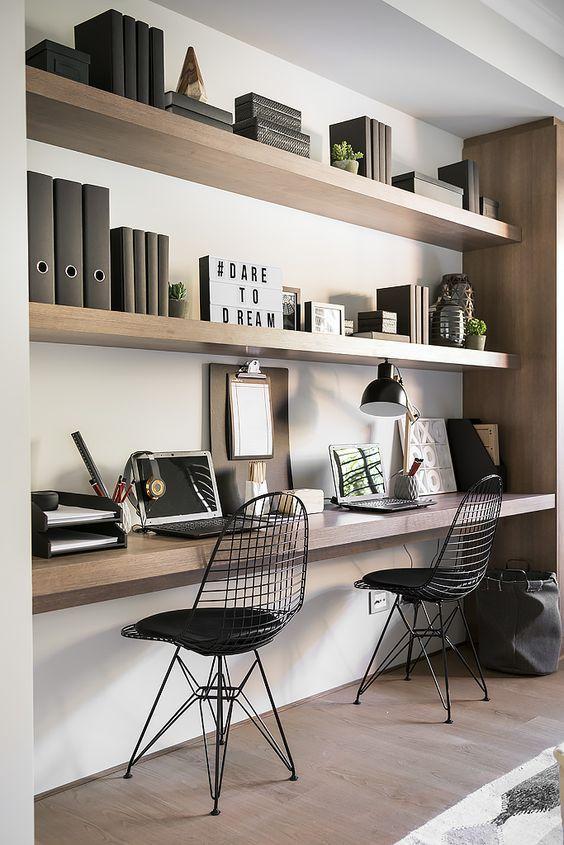 Oficina en casa dise o e inspiraci n 105 decoraci n de for Oficina postal mas cercana