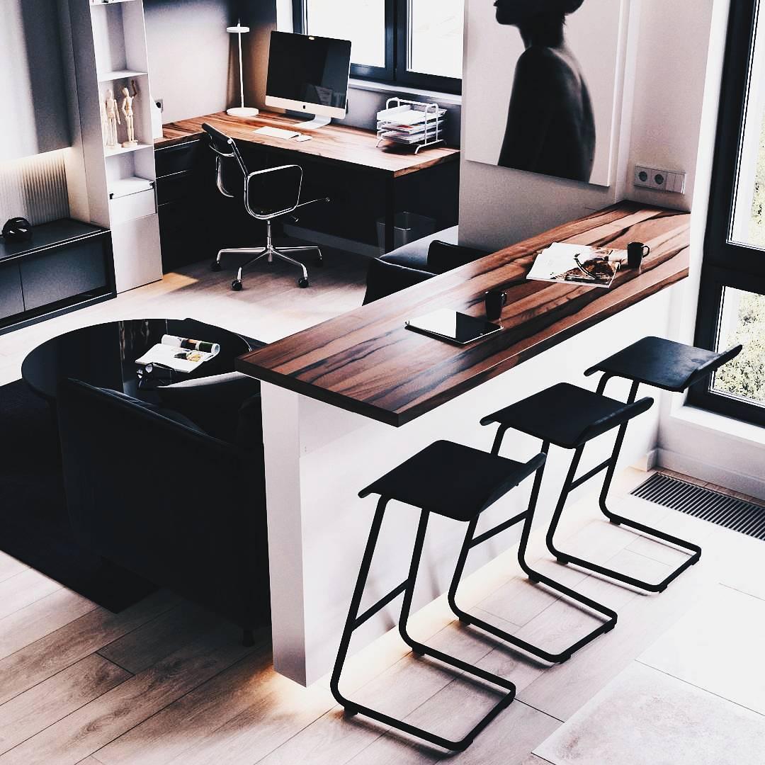 Oficina en casa dise o e inspiraci n 105 decoraci n de for Diseno de oficinas en casa