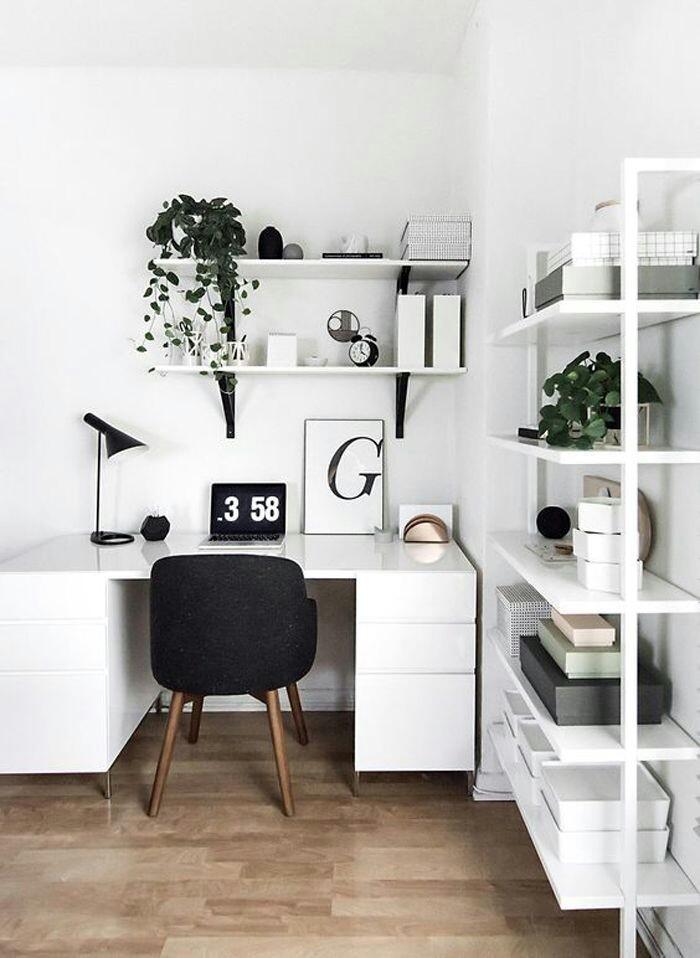 Espacios de trabajo en casa inspiradores #107