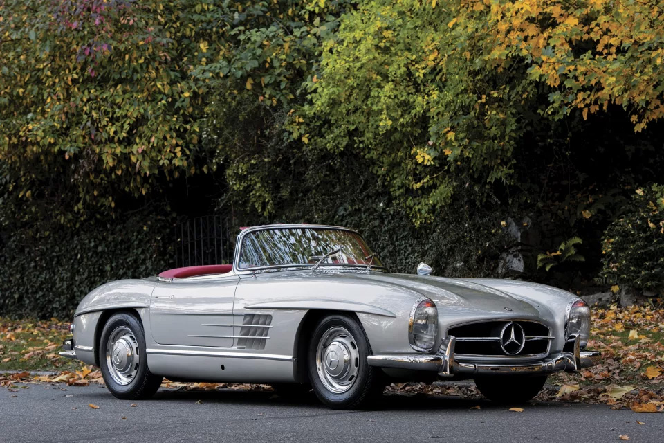 cl sico convertible mercedes benz 300 sl roadster de 1958