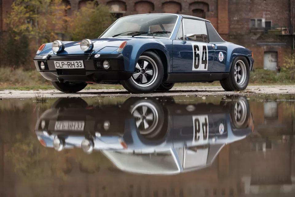 Solo para coleccionistas Porsche 914/6 GT de 1971