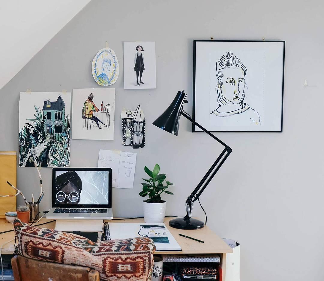 Tu oficina en casa se podría ver así #110 Diseño de Interiores
