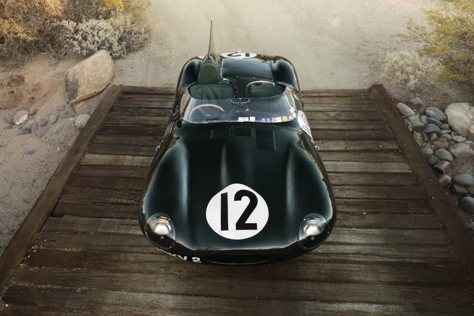 Un Jaguar D-Type de 1954 para agregar a la colección