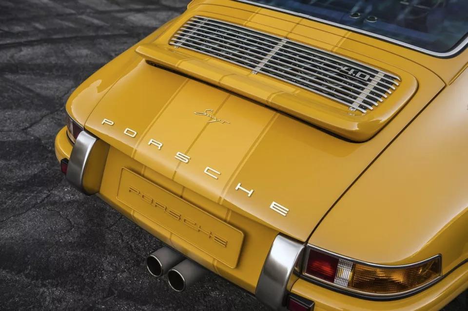 Porsche 911 trabajo de restauración impresionante