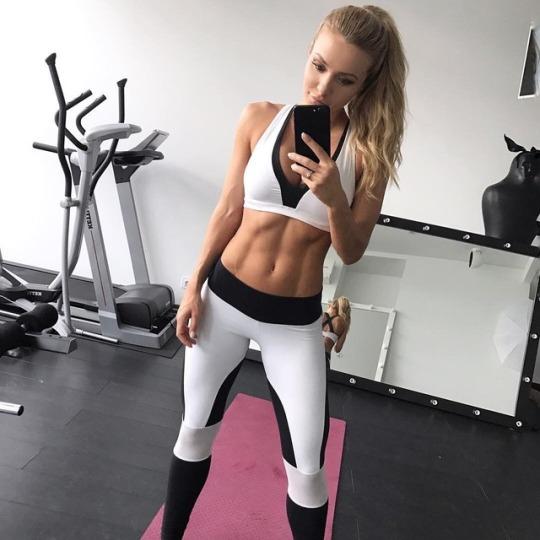 Las chicas fitness más sexys del gimnasio